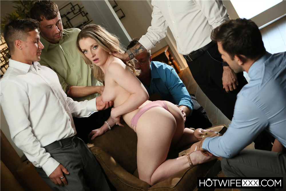 Kate Fantasizes About Strangers Cocks - Chad Alva, Eric Masterson, Jake Adams, Kate Kennedy, Will Pounder | HotWifeXXX